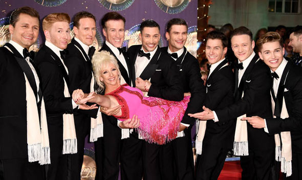 Strictly Come Dancing Red Carpet Launch