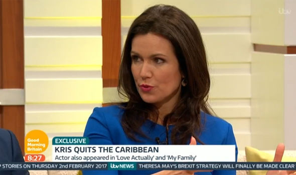 Susanna Reid asks Kris Marshall about Death in Paradise