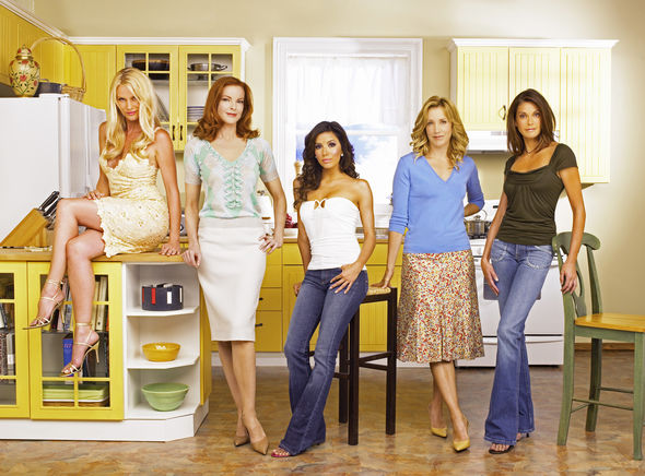 Terri Hatcher was on Desperate Housewives