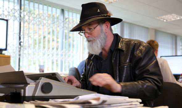 Paul Kaye as Sir Terry Pratchett in Back in Black