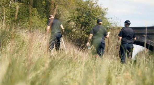 Thames Valley police led a massive hunt