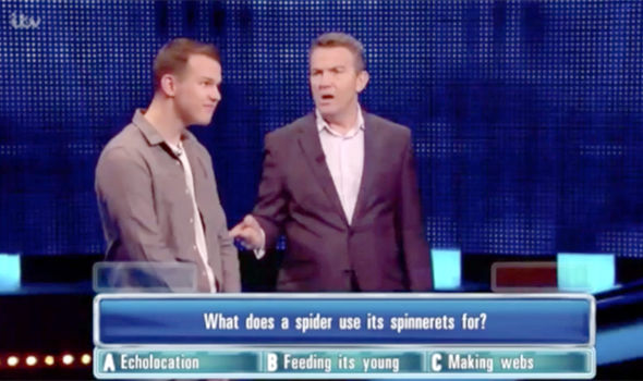 Bradley Walsh threatened to penalise a player on The Chase