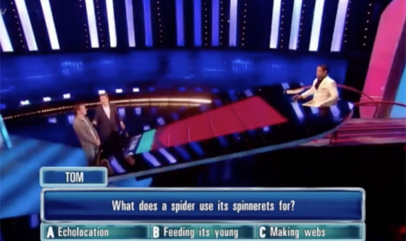 One player answered too quickly during The Chase