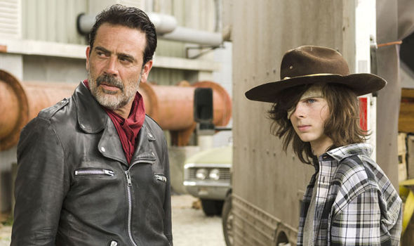 Negan and Carl could team up in The Walking Dead season 7