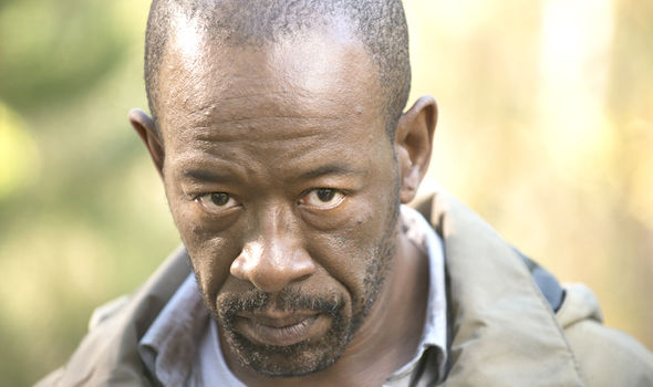Lennie James as Morgan Jones in The Walking Dead