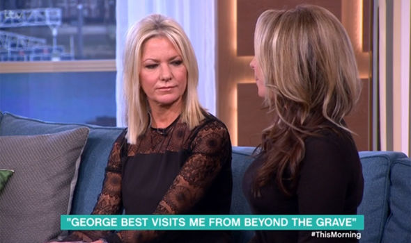 Alex Best spoke of ghostly happenings on This Morning