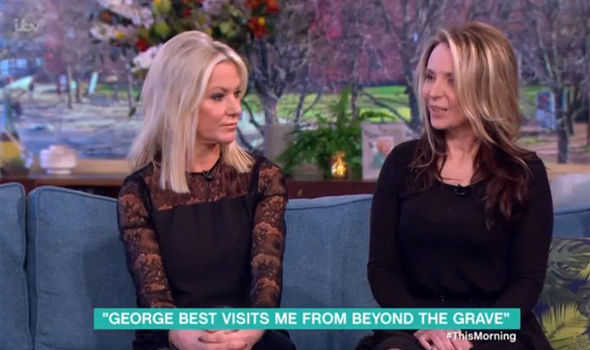 George Best's ex-wife Alex claims his ghost is haunting her years after his death