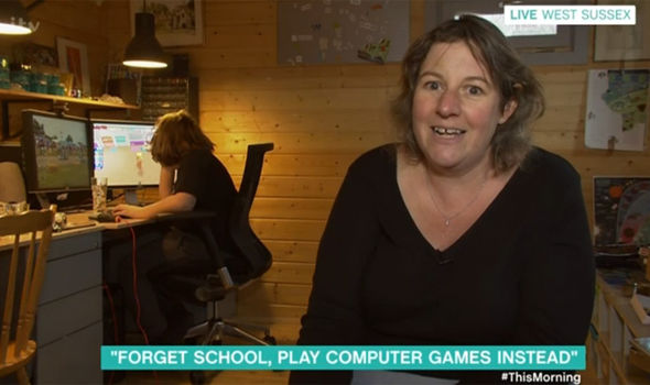 This Morning viewers blast a mother home educating her children with video games