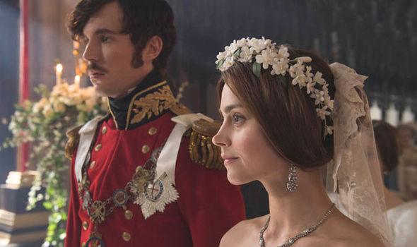 Jenna Coleman and Tom Hughes in ITV drama Victoria season 2