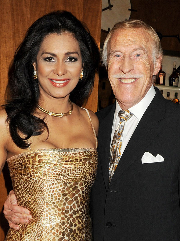Wilnelia and Sir Bruce Forsyth