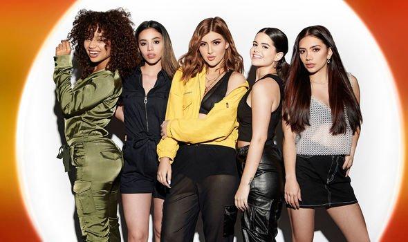 X Factor Celebrity line-up: V5