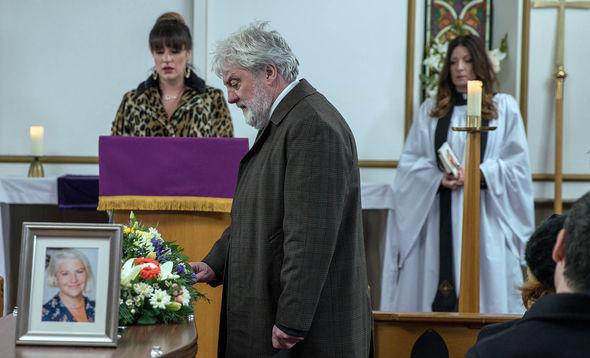 Zak Dingle will struggle at the Church service