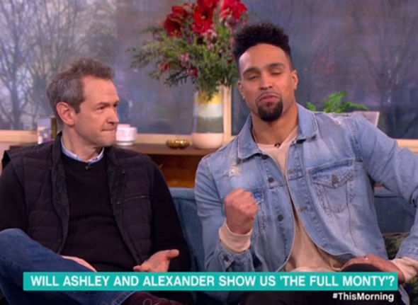 Alexander Armstrong and Ashley Banjo