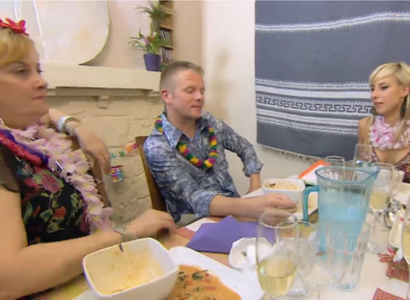 Huw Jones on Come Dine with Me