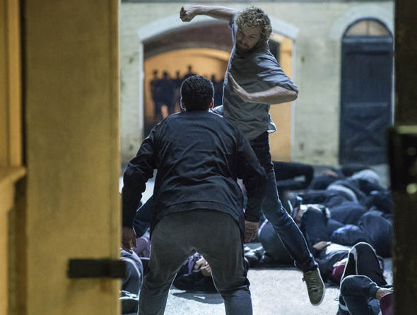 Iron Fist in a fight