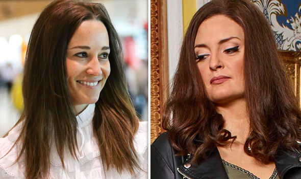 The Windsors: PIppa Middleton and Morgana Robinson