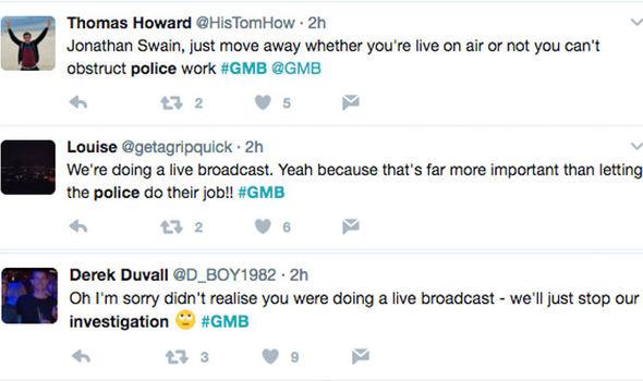 GMB tweets