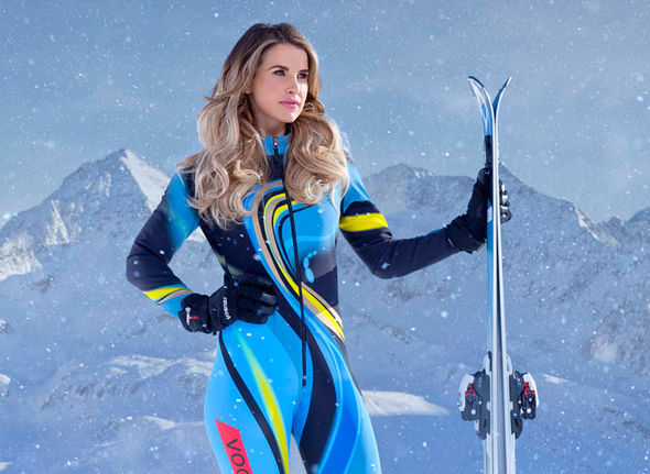Vogue Williams on The Jump