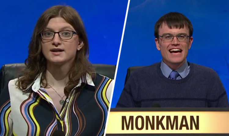 University Challenge Fans Upset As Sophie Rudd Out As Monkman