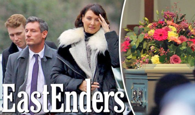eastenders christmas spoilers shock death for cast as funeral scenes unveiled who dies - The Christmas Box Cast