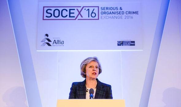 Theresa May at the Socex forum