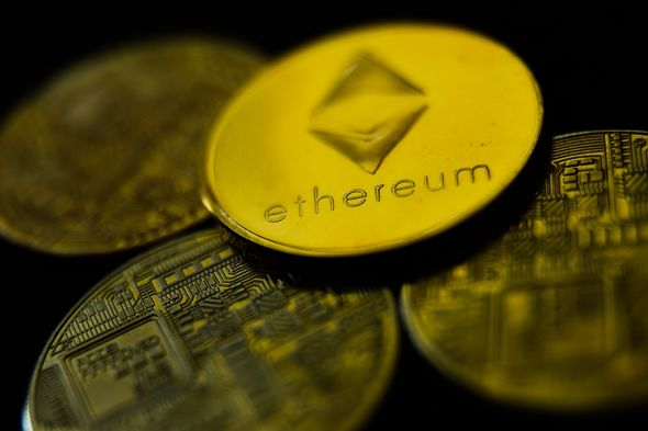 Ethereum also rose by 3.8 percent