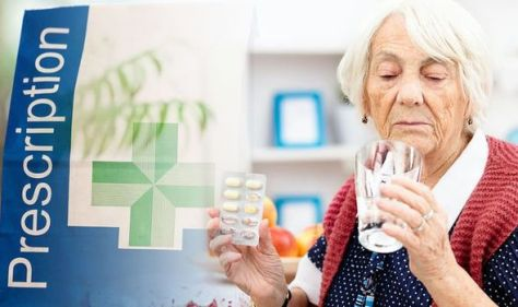 Over 60s may face prescription charges - warning as fines could be issued for non-payment