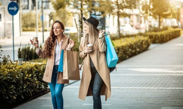How much mortgage can I afford: women shopping