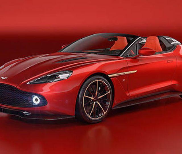 Aston Martin Vanquish Zagato Volante Speedster Coupe Shooting Brake