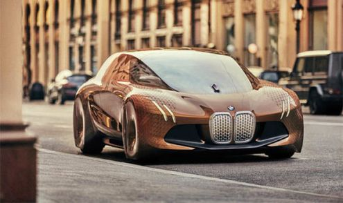 BMW claims Tesla Model 3 rival electric car will have 435 miles of     BMW iNext was a concept car