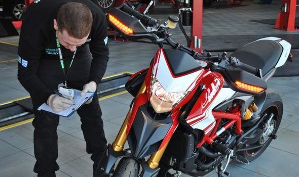 Motorcycle Mot How Much Is An For