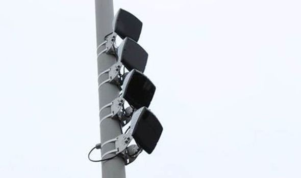New 'yellow vulture' speed cameras