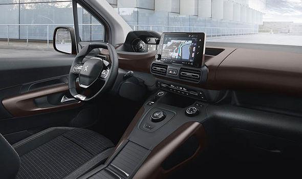 Peugeot Rifter 2018 interior