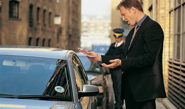 parking ticket fine