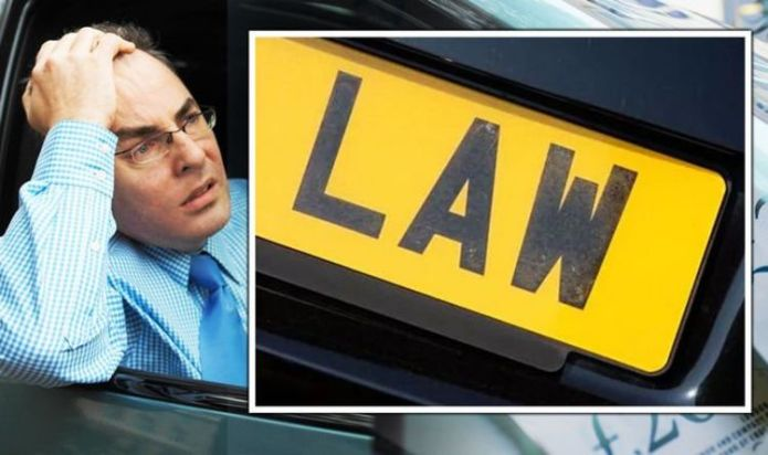 Drivers face heavy fines for not following 2021 number plate rule changes