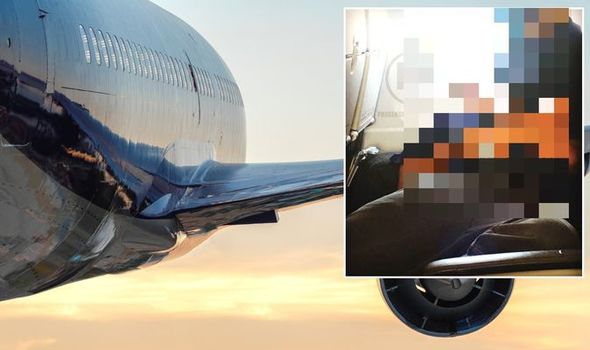 Flights: Airplane passenger couple horrify with 'gross' intimate transfer in surprising picture