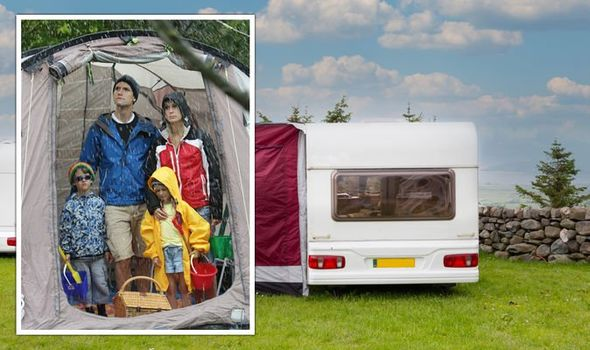 Tent or caravan? Britons weigh the pros and cons – 'try putting a caravan on your back'