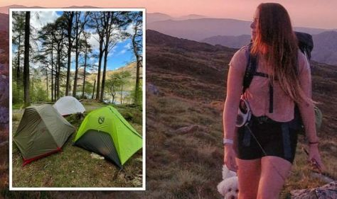 'Sense of achievement': Wild camper explains why she always goes back to camping