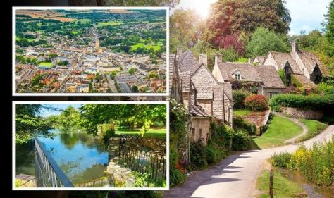 'Quaint' Cotswolds town named one of the prettiest in the country – 'gem of a town'