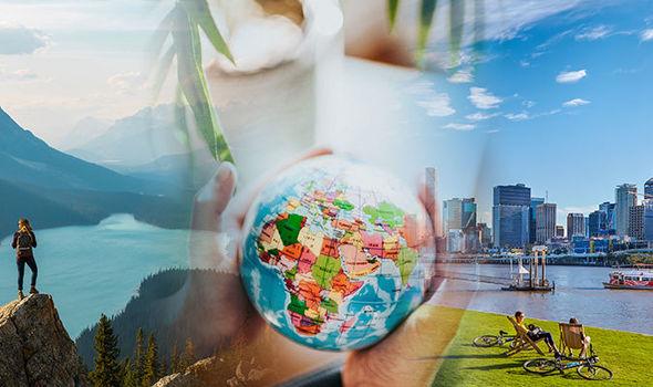 Safest holiday destinations Canada Dubai US