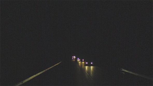 Google Maps Street View dark road