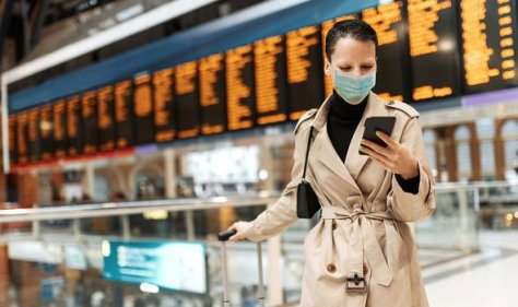 Green list update: Woman in airport
