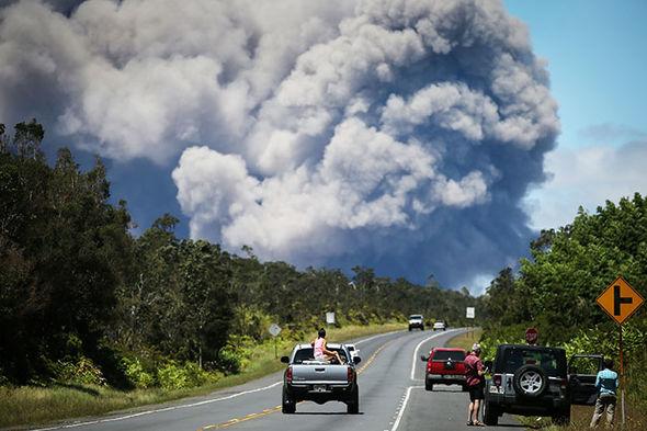 Hawaii volcano eruption kilauea