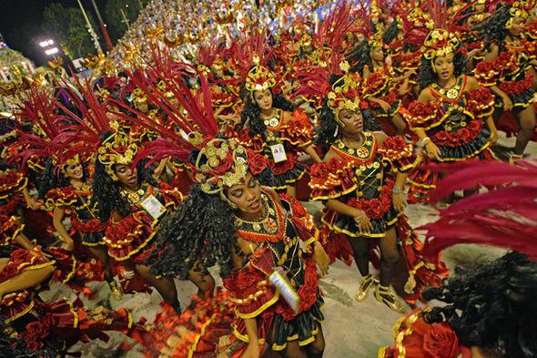 Rio Carnival 2018 pictures dancers