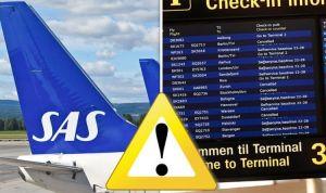 Thousands stranded as Scandinavian Airlines cancels HUNDREDS of flights after pilot strike