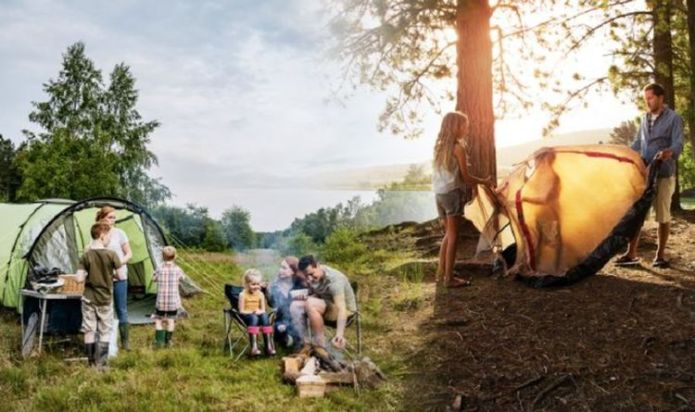 Camping holidays: Expert's top tip on how to keep food cold & have a hot meal in one go
