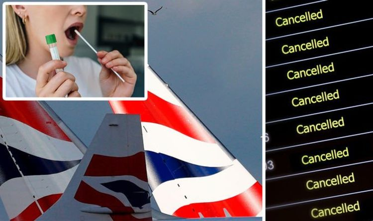 British Airways update: Holidays cancelled as BA offers £33 Covid test to take abroad