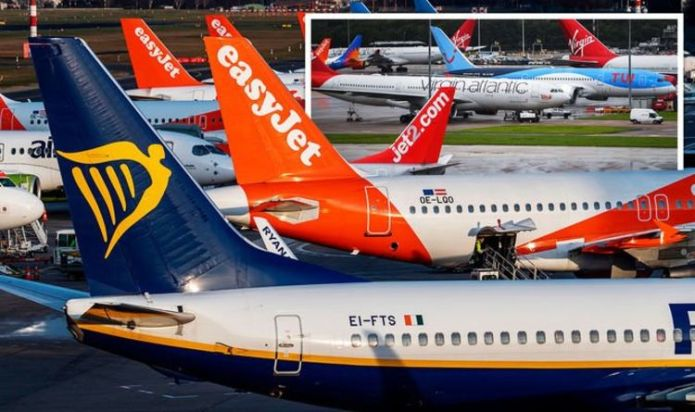 Flights: Latest updates from TUI, BA, easyJet, Ryanair and Jet2 as holiday bookings surge