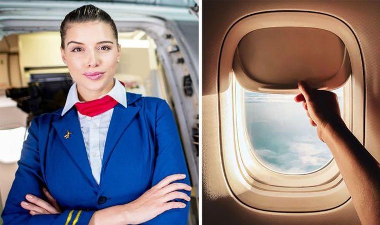 Cabin crew secrets: Flight attendant shares importance of keeping window blinds up