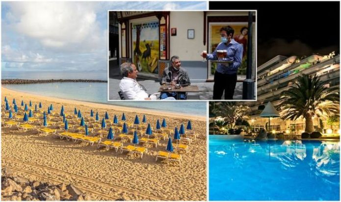 Spain holidays: Tenerife, Gran Canaria & Fuerteventura slash capacity for hotels & bars